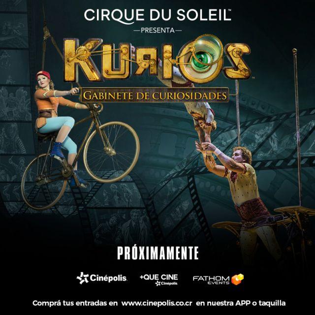 Podrás vivir el espectáculo del 'Cirque Du Soleil' desde una butaca de cine