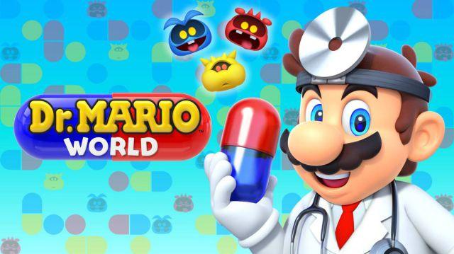 Anuncian la fecha de lanzamiento de Dr. Mario World para iOS y Android