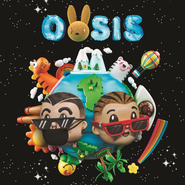 J Balvin y Bad Bunny publican su nuevo disco colaborativo 'OASIS'
