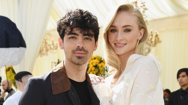 Las primeras imágenes de la boda de Joe Jonas y Sophie Turner