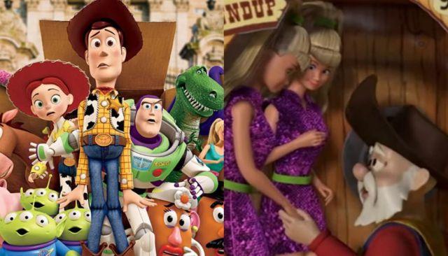 Retiran escena de 'Toy Story 2' con insinuaciones sexuales