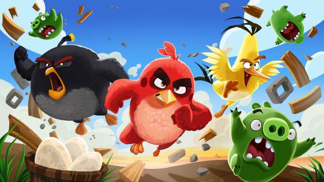Jorge Vindas le dará vida a un personaje de 'Angry Birds 2' en su versión en español