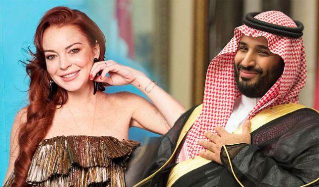 Lindsay Lohan estaría saliendo con el prícipe saudita Mohammed bin Salman