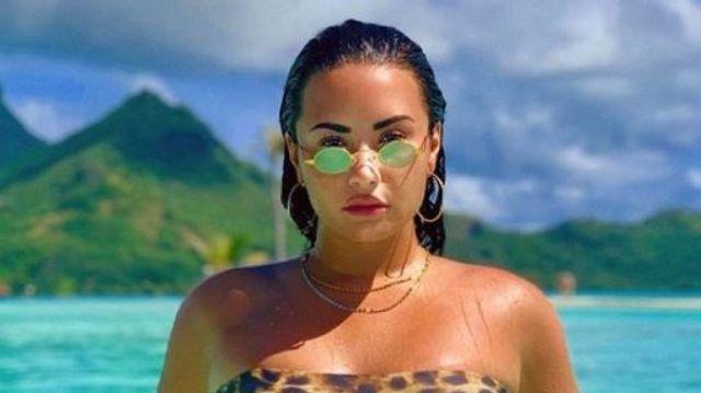 Demi Lovato publica foto en bikini y muestra orgullosa su celulitis