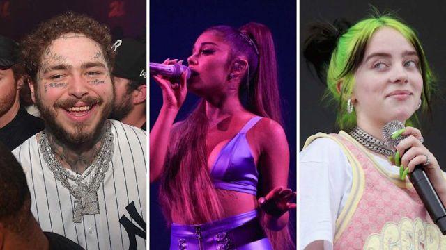 Esta es la lista de nomidados para los American Music Awards 2019