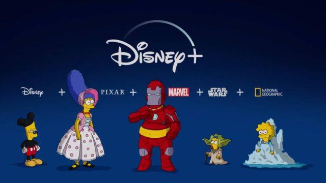 Disney plus disfraza a Los Simpsons en su nueva 'promo'