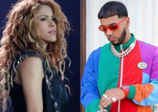 Shakira lanza su nueva colaboración con Anuel AA
