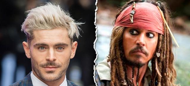 Zac Efron podría ser el nuevo Jack Sparrow