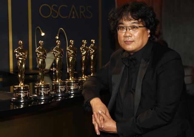 """""""Parasite"""" hizo historia y se robó el show en los Premios Oscar 2020"""