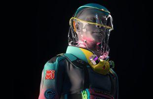 Crean traje para perrear de forma segura durante la pandemia