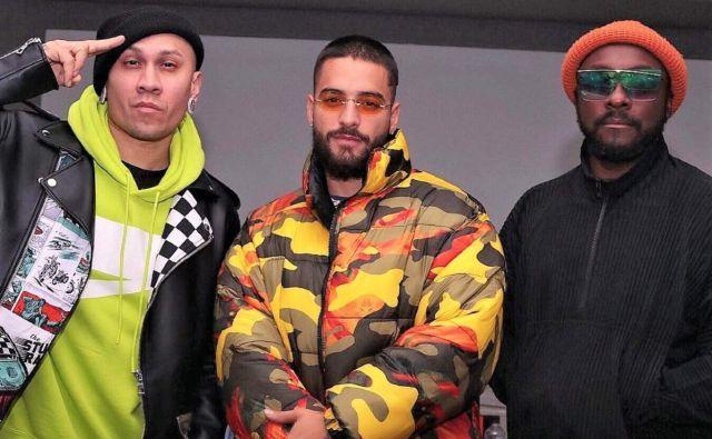 Black Eyed Peas lanzará álbum con Maluma, Becky G, Shakira y más