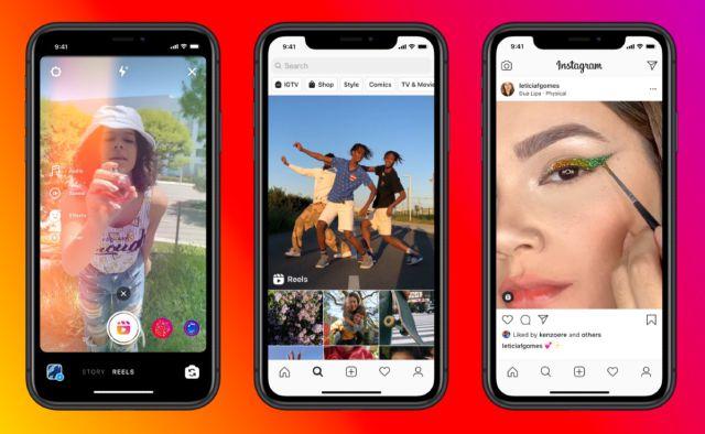 ¡Tiembla TikTok! Instagram Reels, otra app de videos cortos