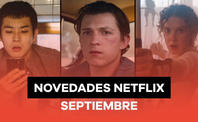 Netflix llega cargado de novedades en septiembre con series y películas