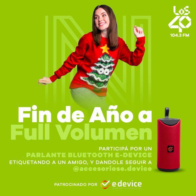 """Reglamento Oficial Promoción """"FIN DE AÑO A FULL VOLUMEN"""""""
