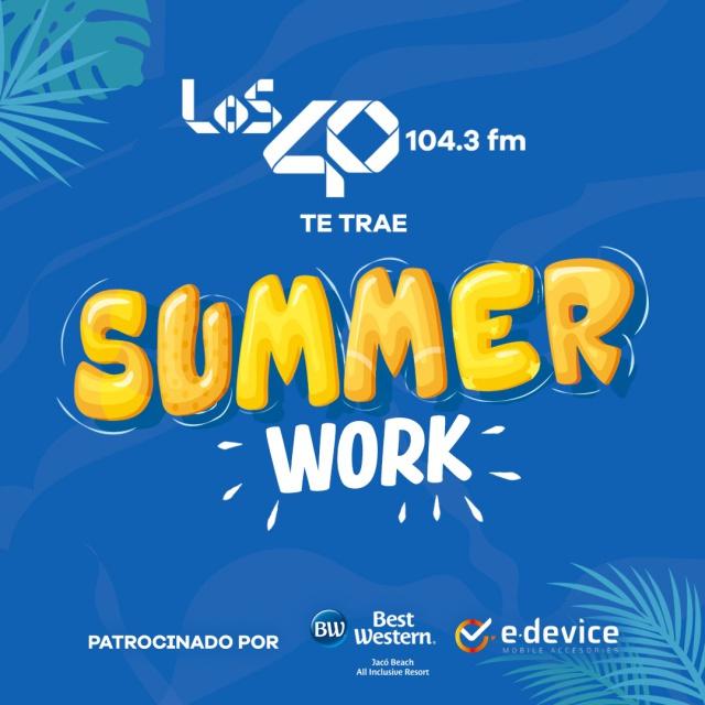 """Reglamento Oficial Promoción """"SUMMER WORK"""""""
