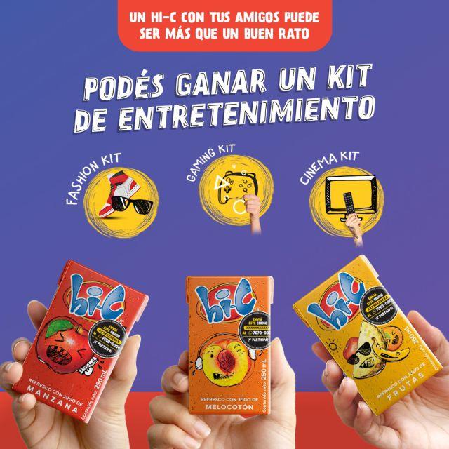 Hi C lanza campaña con atractivos premios